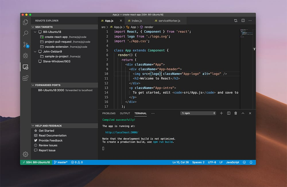 Facebook utilizara VIsual Studio Code