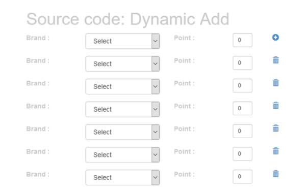 How to add, edit and delete html fields dynamically using JQuery