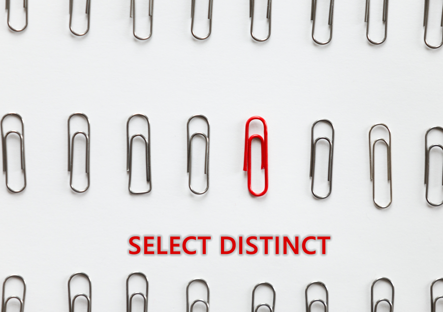 SQL SERVER select distinct