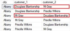Self Join de SQL Server para consultar datos jerárquicos y comparar filas en una misma tabla